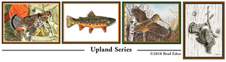 Upland Journal Postcards: Upland Series